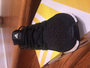 Ultra boost core black brand new never worn