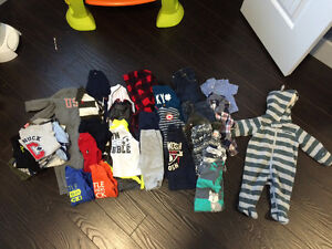 Variety of Baby Boy Clothes