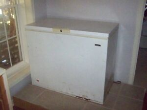 Chest Freezer Reliable approx 8 Cubic feet
