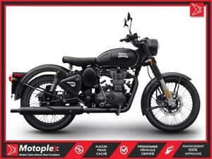 2019 Royal Enfield Classic 500 Stealth Black Cafe Racer