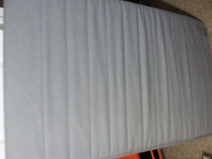 Ikea, Single Grey Foam Matress with removable head rest for sale