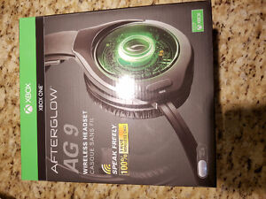 Afterglow AG9 wireless headphones Xbox one $80 OBO