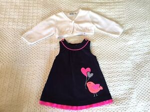 Baby girl clothes 6 months - 10 items London Ontario image 2