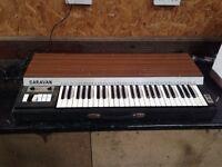 Gem Caravan Vintage Italian Combo Organ