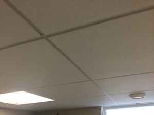 Symphony 2x2 insulated ceiling tile
