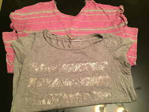 Huge bag of women's maternity clothes size L to XL West Island Greater Montréal image 2