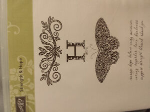 stampin up  Strength and hope