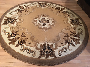 Round 6 1 2 Foot Area Rug