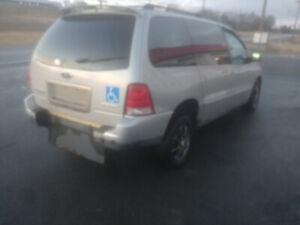 2006 Ford Freestar Minivan, Wheelchair Van New MVI!!!