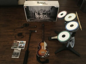 Beatles Rock Band, Rock Band 2 and Classic Rock Track Pack