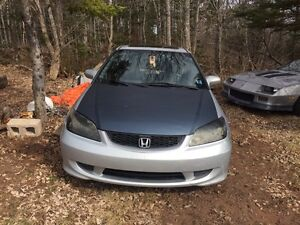 2005 civic si 5 speed