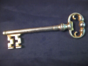Antique Skeleton Key with Opener & Corkscrew