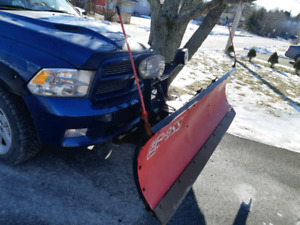 Boss blade for sale 2011 dodge ram and also have a bracket to fi