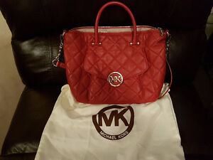 michael kores leather purse brand new