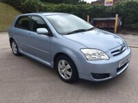 **VERY LOW MILES+TOYOTA COROLLA COLOUR COLLECTION VVT-I 1.4 DIESEL (2006 YEAR)**