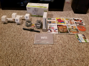 Nintendo Wii console games and tons of accessories