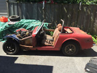 1971 MG Midget for Project Car or Parts
