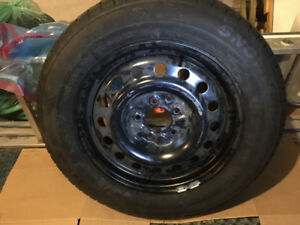 4 Winter Snow Tires and Rims - brand new