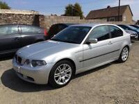 2004 BMW 3 Series 1.8 316ti Sport Compact 3dr Petrol Manual (170 g/km, 115