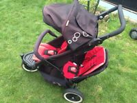 Phil and teds double buggy/pushchair