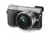 Panasonic Lumix DMC-GX7 with 20mm Lens silver