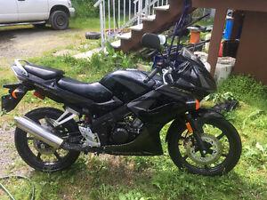 2007 Honda 125 CBR