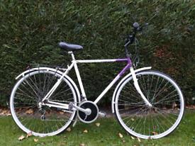 Raleigh Classic Pioneer mens bike Shimano 2x6
