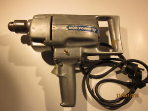 """Electric Drill 1/2"""" Low RPM"""