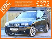 2009 BMW X3 xDrive20d Turbo Diesel 177 PS Ltd Limited Sport Edition 6 Speed Auto