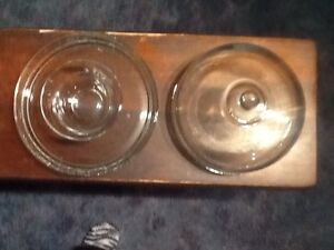 Covered glass serving tray Strathcona County Edmonton Area image 3