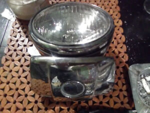 CHROME HEADLIGHT 1970-78 HARLEY DAVIDSON $300 OBO