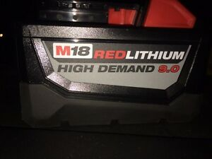 Brand-New Milwaukee 18 Volt 9.0 ah Battery