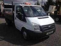 Ford Transit TIPPER 2.4TDCi ( 140PS ) 6 speed twin axle ) T350 MWB 2011 11 Reg