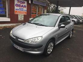 Peugeot 206 1.4HDi 70 2005MY Fever