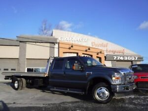 Ford Super Duty F-350 DRW 6X6, TOWING JERR DAN 19 PIEDS, LARIAT,