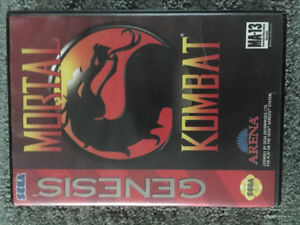 Original Mortal Kombat Sega Genesis 1993 pre-owned