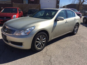 2007 Infiniti G35x/NO ACCIDENT/CERTIFIED&E-TESTED
