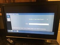 32'' flat screen TV for sale