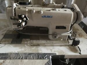 Juki- Double needle Industrial sewing machine. Very heavy sewing