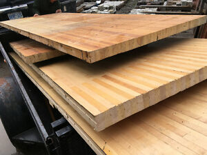 Solid maple bowling flooring