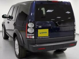 2014 Land Rover Discovery Diesel blue Semi Auto