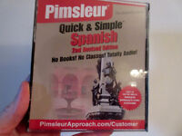 Pimsleur Spanish complete set for $60