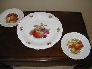 Serving Dish and Plates