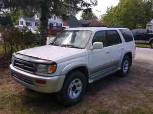 1997 toyota 4 runner limited with locking rear
