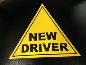 NEW DRIVER SIGN Edmonton Edmonton Area image 2