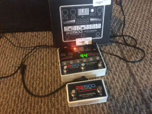 Electro Harmonix 22500 Dual Stereo Looper and Foot Controller