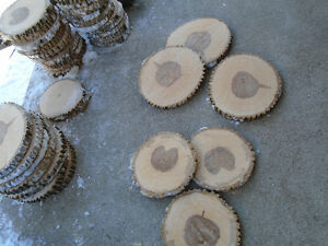 Wedding center-pieces/wood slices/slabs/coasters/cake stands....