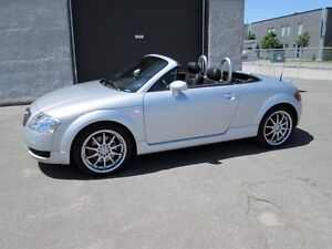 AUDI TT CONVERTIBLE 2002 IMPPECABLE !!! CUIR DVD MAGS 18 POUCES