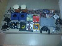 Lot de jeux , gamecube , playstation , final fantasy , zelda etc