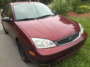 FOR SALE 2007 Ford Focus Sedan in still new driving condition